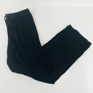 Nautica women's sleep pants black size small